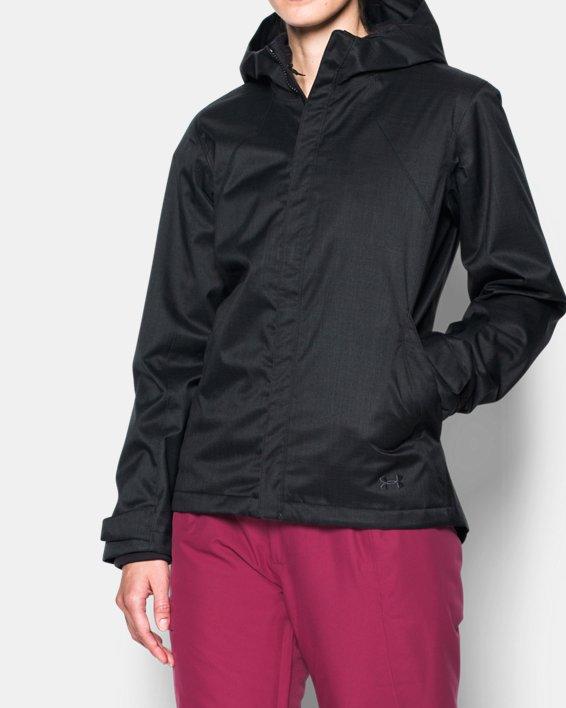 Women's UA Sienna 3-in-1 Jacket, Black, pdpMainDesktop image number 0