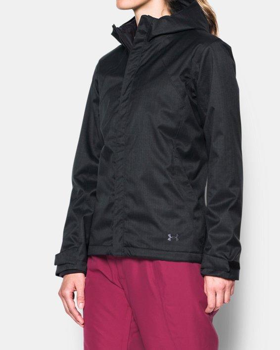 Women's UA Sienna 3-in-1 Jacket, Black, pdpMainDesktop image number 1