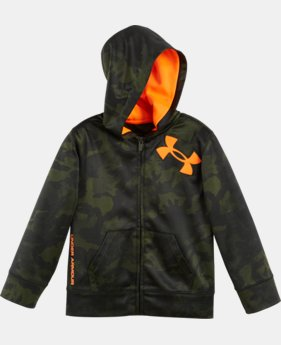 Boys' Pre-School UA Takeover Full Zip Hoodie LIMITED TIME: FREE U.S. SHIPPING 1 Color $44.99