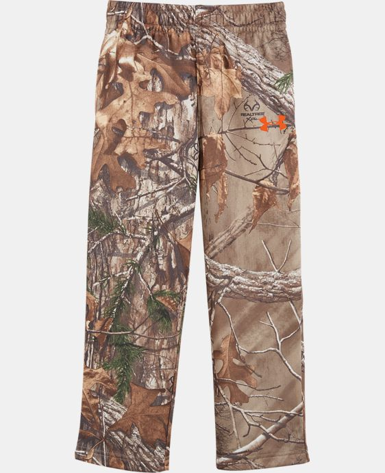 Boys' Newborn UA Camo Pants  1 Color $30.99
