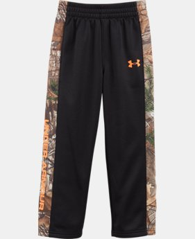 New Arrival Boys' Toddler UA Solid Camo Pants  1 Color $37.99