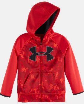 Boys' Pre-School UA Atlas Big Logo Hoodie  2 Colors $32.99