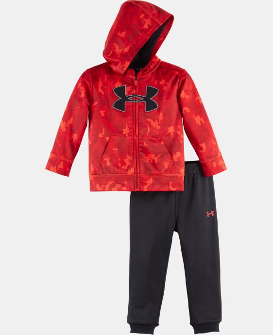 Boys' Newborn UA Atlas Hoodie Track Set LIMITED TIME: FREE U.S. SHIPPING  $33.99