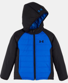 New Arrival Boys' Pre-School UA Werewolf Puffer Jacket  1 Color $59.99