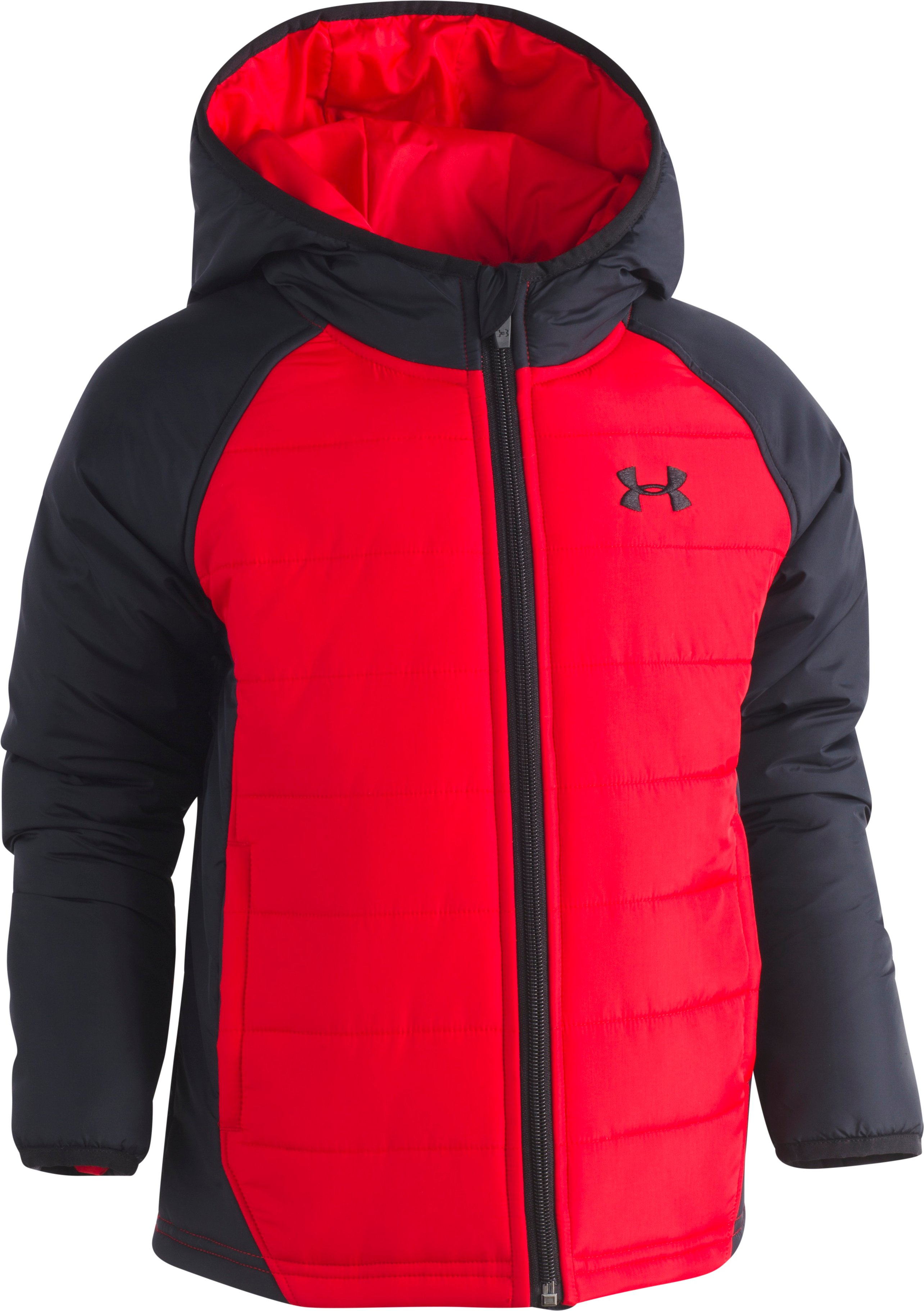 Boys' Toddler UA Werewolf Puffer Jacket, Red