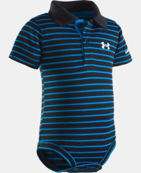 Boys' Infant UA Yarn Dye Polo Bodysuit  1  Color Available $22