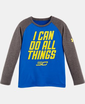 New Arrival Boys' Pre-School SC30 I Can Do All Things Raglan Long Sleeve LIMITED TIME: FREE U.S. SHIPPING  $26.99