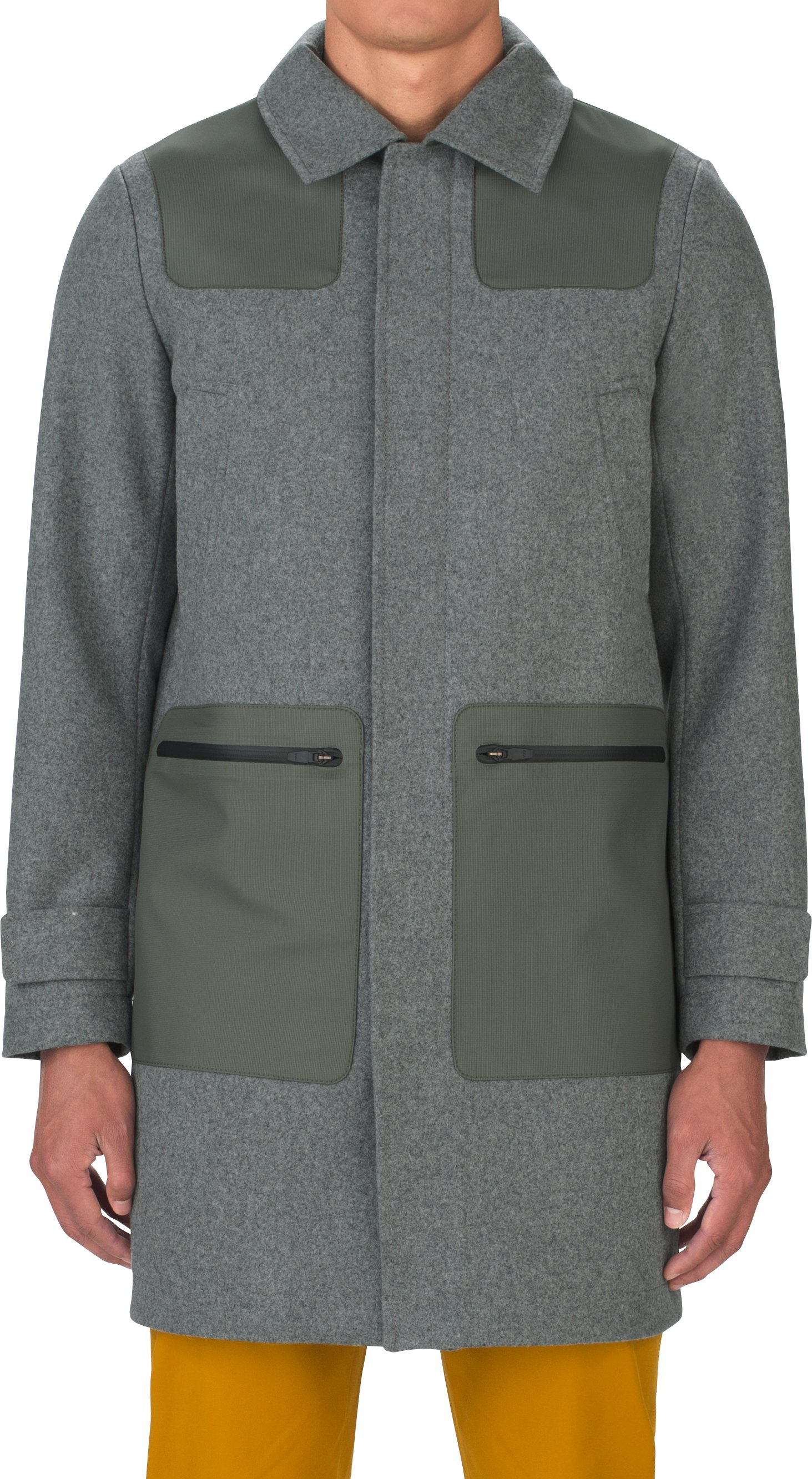 Fieldhouse Trench Wool, WARM HEATHER, undefined