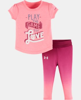 New Arrival Girls' Infant UA Play The Game You Love Set LIMITED TIME: FREE U.S. SHIPPING  $26.99