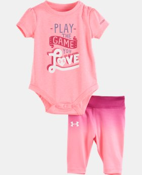 New Arrival Girls' Newborn UA Play The Game You Love Set LIMITED TIME: FREE U.S. SHIPPING 1 Color $26.99