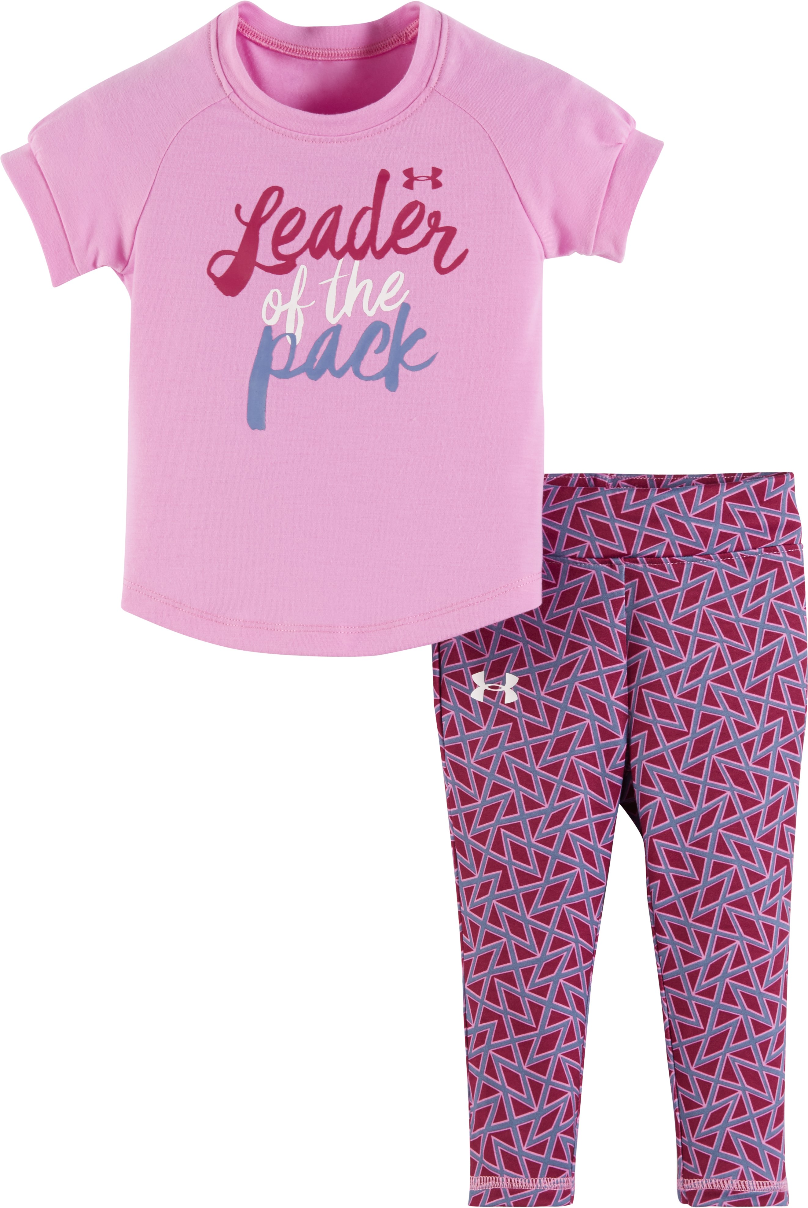 Girls' Infant UA Leader Of The Pack Set, VERVE VIOLET