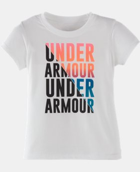Girls' Pre-School UA Favorites T-Shirt LIMITED TIME: FREE U.S. SHIPPING 1 Color $13.99