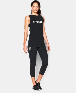 Women's UA Athlete Muscle Tank LIMITED TIME: FREE U.S. SHIPPING 1 Color $29.99
