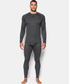 Men's UA Base™ Wool Crew  1 Color $114.99