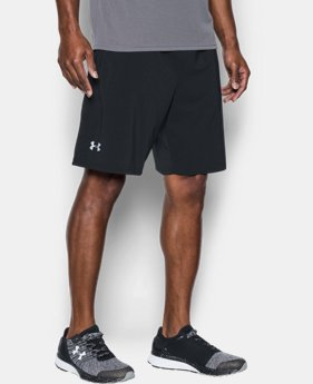 "Best Seller Men's UA Speedpocket Run 9"" Shorts  1  Color Available $44.99"