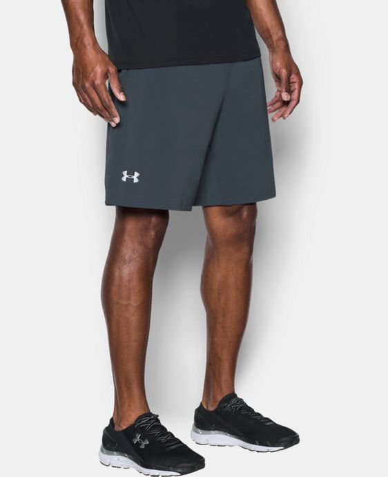 "New Arrival Men's UA Speedpocket Run 9"" Shorts   $49.99"