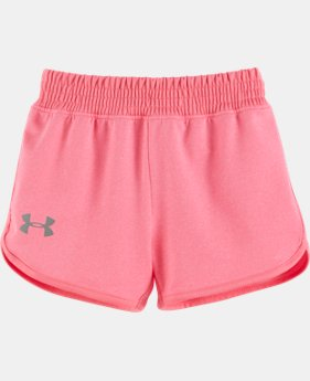 New Arrival Girls' Pre-School UA Record Breaker Shorts   $21.99