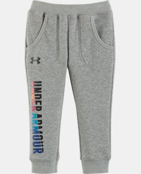 Girls' Pre-School UA Favorite Fleece Capris  1 Color $23.99
