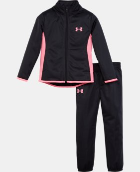 Girls' Pre-School UA Super Fan Track Set  1 Color $39.99