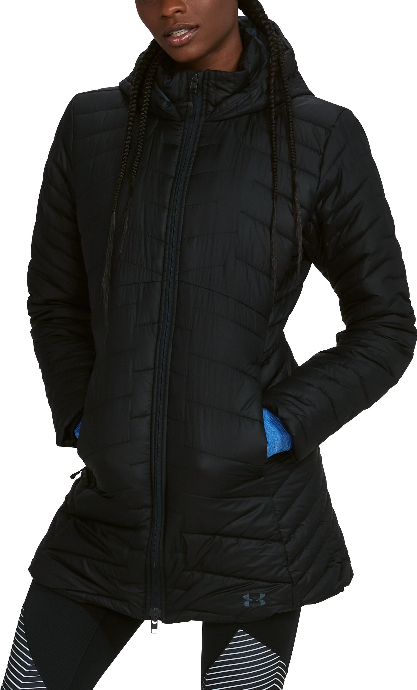 Women's ColdGear® Reactor Parka, Black