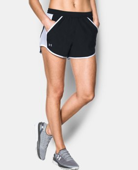 Best Seller Women's UA Fly-By Shorts  6  Colors $24.99 to $25