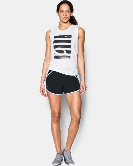 Women's UA Fly-By Shorts, Black, pdpMainDesktop image number 0