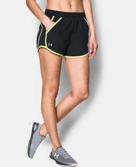 Best Seller Women's UA Fly-By Shorts  4 Colors $17.99