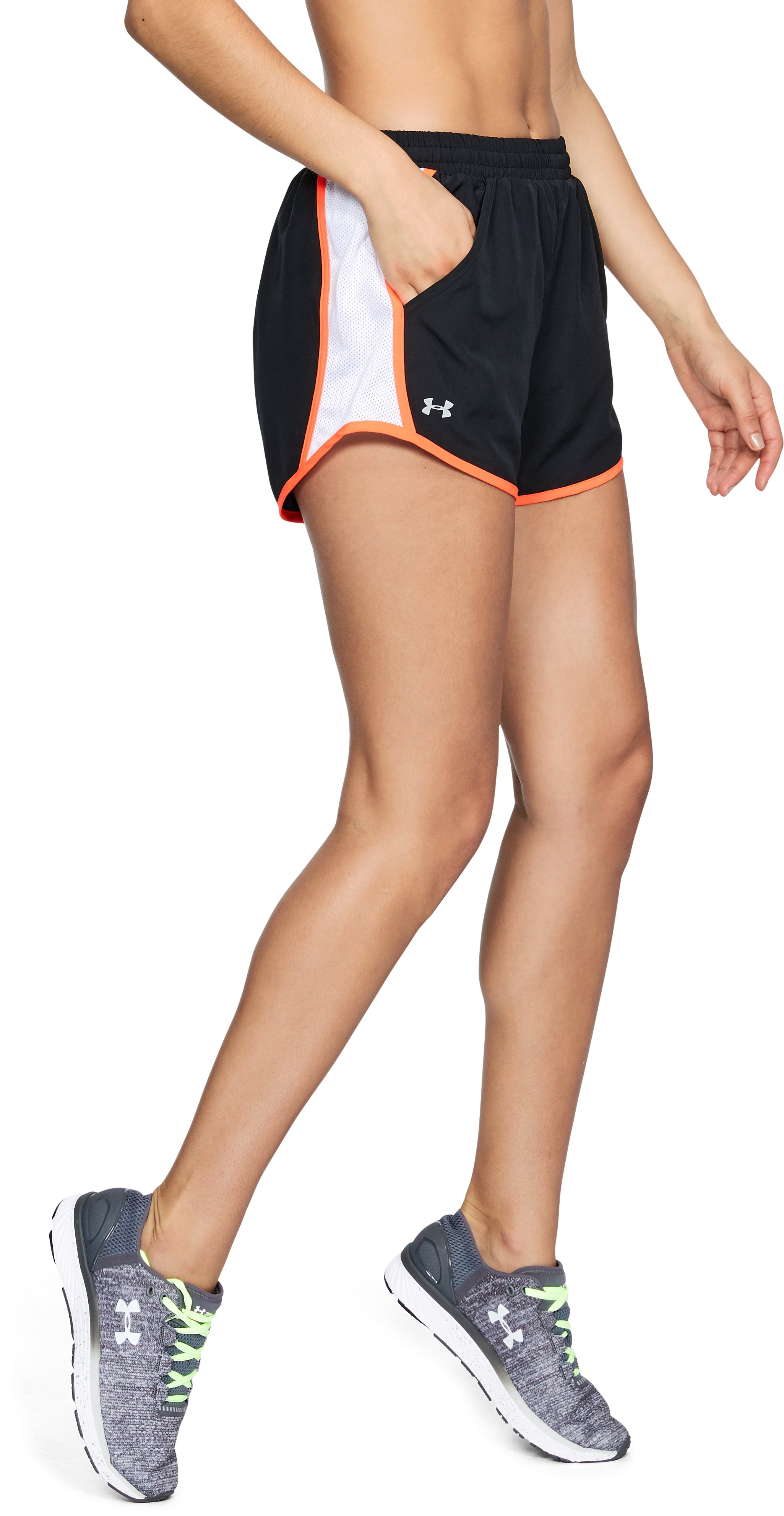 Women's UA Fly-By Shorts, Black