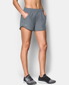 Best Seller  Women's UA Fly-By Shorts LIMITED TIME: FREE SHIPPING 1  Color Available $29.99