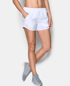 Best Seller Women's UA Fly-By Shorts  3 Colors $24.99