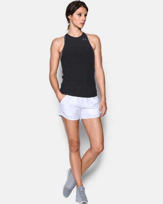 Women's UA Fly-By Shorts, White, pdpMainDesktop image number 0