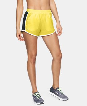 Best Seller Women's UA Fly-By Shorts LIMITED TIME: FREE U.S. SHIPPING 4 Colors $24.99 to $25