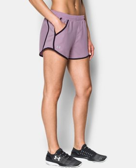 New Arrival Women's UA Fly-By Shorts  1 Color $24.99
