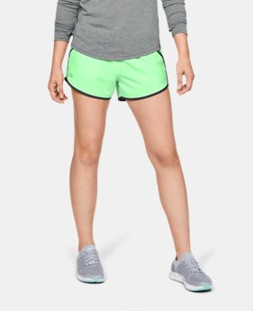 Best Seller Women's UA Fly-By Shorts   $24.99
