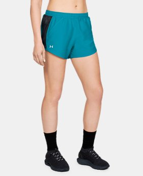 Best Seller Women's UA Fly-By Shorts  4  Colors Available $24.99