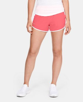 Best Seller Women's UA Fly-By Shorts  1  Color Available $12.5 to $18.74