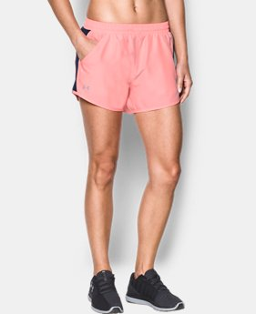 Best Seller Women's UA Fly-By Shorts   $25