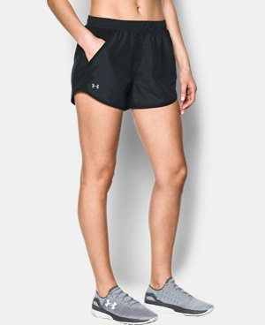 New Arrival  Women's UA Fly-By Printed Shorts  2 Colors $34.99