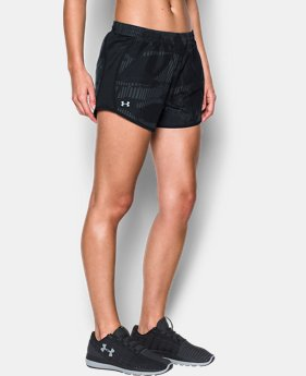 Best Seller Women's UA Fly-By Printed Shorts  1 Color $29.99