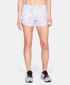 Women's UA Fly-By Printed Shorts  1  Color Available $15 to $25.49