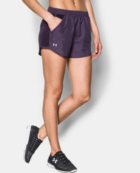New Arrival Women's UA Printed Fly-By Shorts  3 Colors $29.99