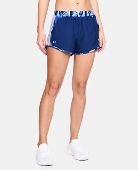 Best Seller Women's UA Fly-By Printed Shorts FREE U.S. SHIPPING  $29.99