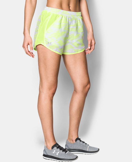 New Arrival Women's UA Printed Fly-By Shorts   $29.99