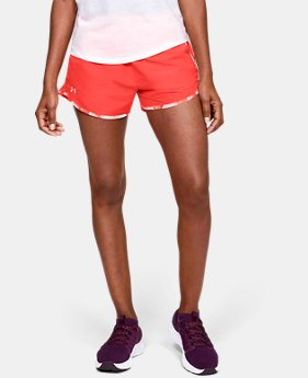 Best Seller Women's UA Fly-By Printed Shorts   $16.99 to $22.49