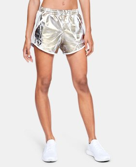 Best Seller Women's UA Fly-By Printed Shorts  7  Colors Available $29.99 to $30