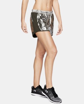 Best Seller Women's UA Fly-By Printed Shorts  3  Colors Available $15 to $22.49