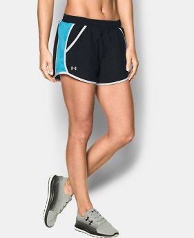 Women's UA Fly-By Perforated Shorts  1 Color $15.74
