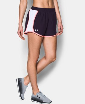 Women's UA Fly-By Perforated Shorts 3 FOR $40 1 Color $22.49