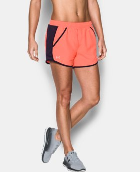 Women's UA Fly-By Perforated Shorts  1 Color $29.99