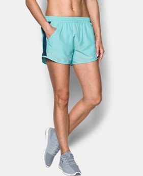 Women's UA Fly-By Perforated Shorts   $22.49